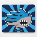 Hand shaped Shark mouth mouse pad