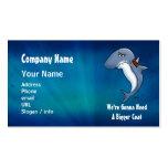 Shark Needs Bigger Coat Cartoon Business Car Business Card Templates