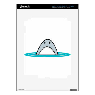 Shark nose decal for iPad 3