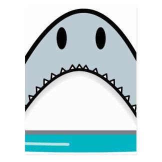 Shark nose postcard