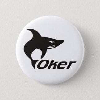 Shark One Pinback Button