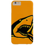 Shark Orange Barely There iPhone 6 Plus Case