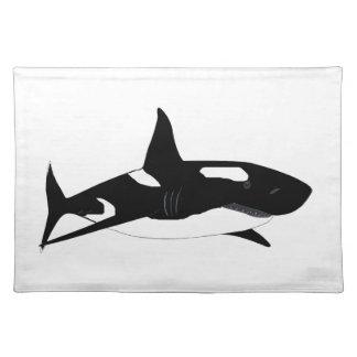 Shark + Orca = Shorca Cloth Placemat