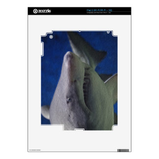 Shark painting. iPad 2 skin