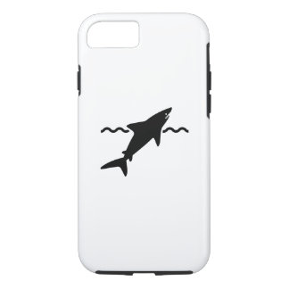 Shark Pictogram iPhone 7 Case