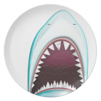 Shark Party Plate