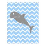 Shark. Postcard
