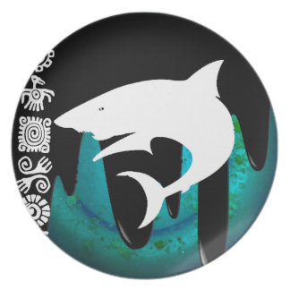 SHARK PRODUCTS PARTY PLATE