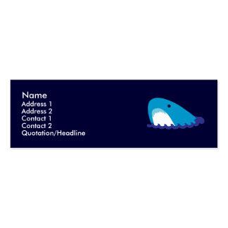 Shark Profile Cards Business Cards