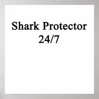 Shark Protector 24/7 Poster