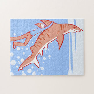 Shark Ride Jigsaw Puzzle