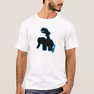 Shark Riding Elephant T-Shirt