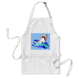 Shark Rise Adult Apron