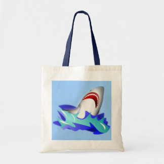 Shark Rise Tote Bag