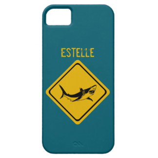 shark road sign iPhone SE/5/5s case