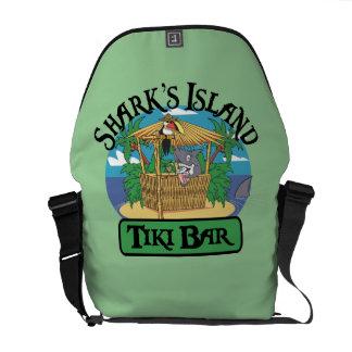 Shark s Island Tiki Bar Messenger Bag