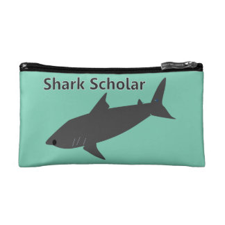 Shark Scholar Cosmetic Bag