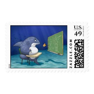 Shark School Stamps