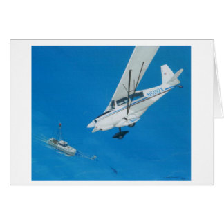 Shark Scouting off Cape Cod Note Card