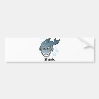 Shark. Shark Bumper Sticker