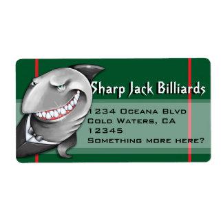 Shark. Shipping. Address. Product. Customizable Label