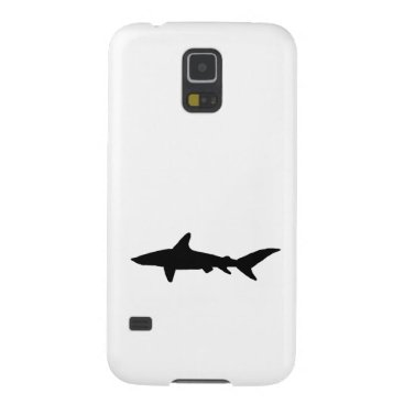 Beach Themed Shark Silhouette Case For Galaxy S5
