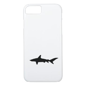 Beach Themed Shark Silhouette iPhone 7 Case