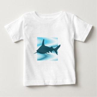 Shark silhouette Tots T-shirt