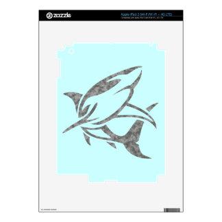 Shark Decals For iPad 3