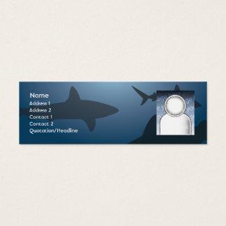 Shark - Skinny Mini Business Card