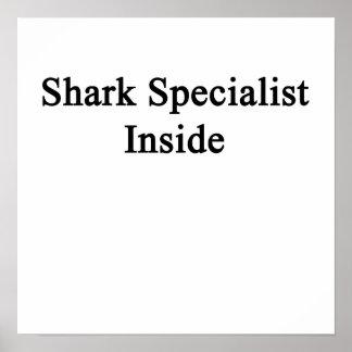 Shark Specialist Inside Poster