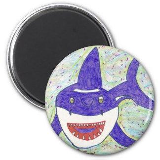 Shark Species 2 Inch Round Magnet