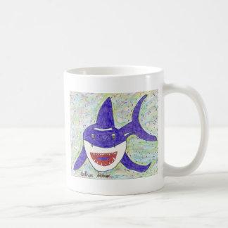 Shark Species Autism Classic White Coffee Mug