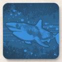 Shark Splash Coaster corkcoaster
