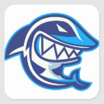 Shark Square Sticker