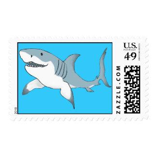 shark stamp