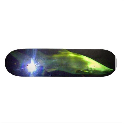 shark strike skateboard deck
