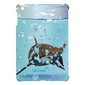 Shark Swimiming In The Jar iPad Mini Case