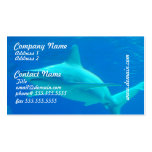 Shark Swimming Business Cards