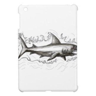 Shark Swimming Water Tattoo iPad Mini Case