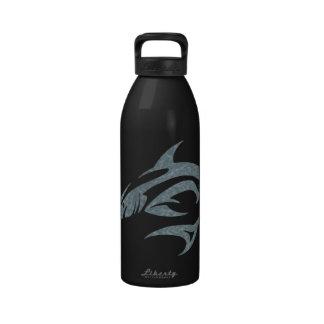 Shark Tattoo Reusable Water Bottles