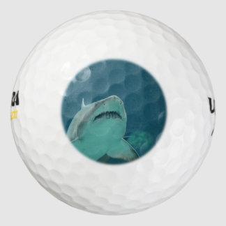 Shark Teeth Pack Of Golf Balls