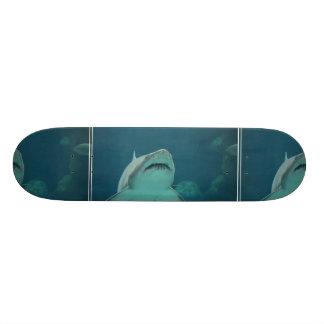 Shark Teeth Custom Skateboard