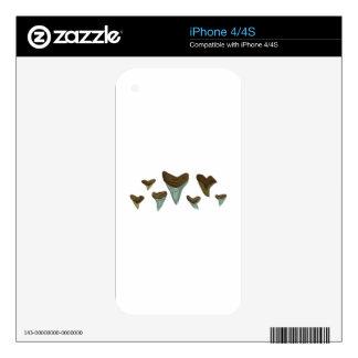 Shark Teeth Skin For The iPhone 4S