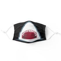 SHARK TEETH SMILE kids Adult Cloth Face Mask