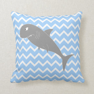 Shark. Throw Pillow