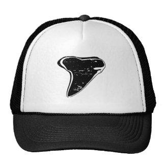 Shark tooth fossil beach hat