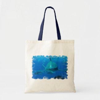 Shark Underwater Canvas Bag