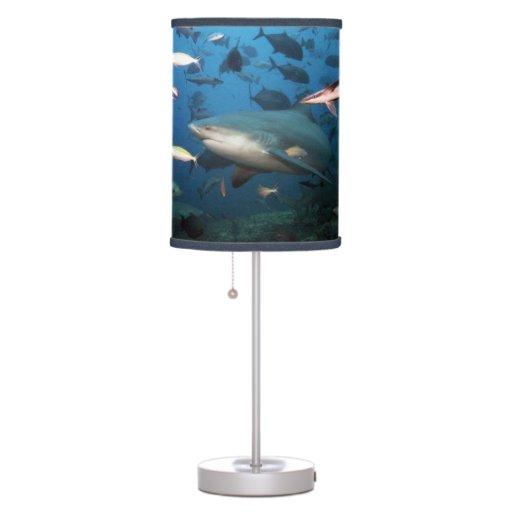 Shark underwater lamp
