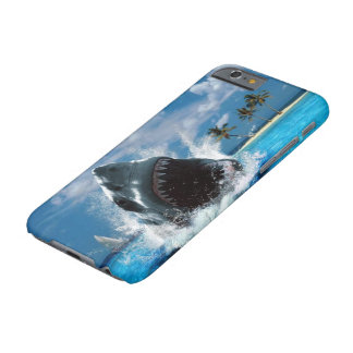 Shark Vacation Island iPhone 6 Case